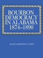 Bourbon Democracy in Alabama, 1874–1890