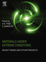 Materials Under Extreme Conditions