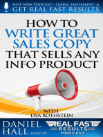 How to Write Great Sales Copy that Sells Any Info Product (Even if You Flunked English)