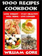 1000 Recipes Cookbook
