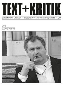 TEXT + KRITIK 213 - Kurt Drawert