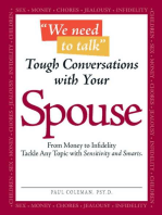 We Need to Talk - Tough Conversations With Your Spouse