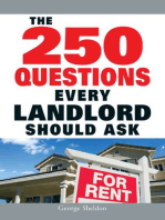 The 250 Questions Every Landlord Should Ask