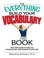 The Everything Build Your Vocabulary Book