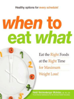 When to Eat What