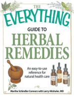 The Everything Guide to Herbal Remedies