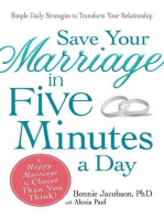 Save Your Marriage in Five Minutes a Day