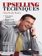 Upselling Techniques