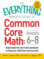 The Everything Parent's Guide to Common Core Math Grades 6-8