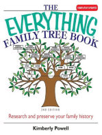 The Everything Family Tree Book