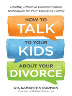 How to Talk to Your Kids about Your Divorce
