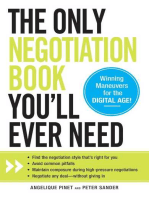 The Only Negotiation Book You'll Ever Need