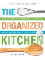 The Organized Kitchen