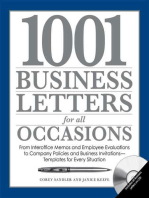 1001 Business Letters for All Occasions