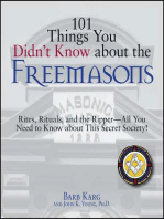101 Things You Didn't Know About The Freemasons