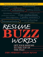 Resume Buzz Words