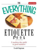 The Everything Etiquette Book