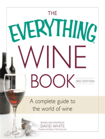 The Everything Wine Book: A Complete Guide to the World of Wine