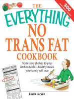 The Everything No Trans Fats Cookbook