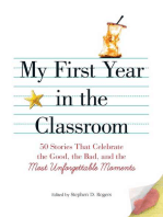 My First Year in the Classroom