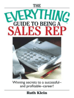 The Everything Guide To Being A Sales Rep