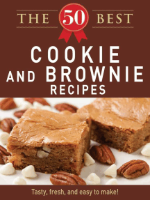 The 50 Best Cookies and Brownies Recipes: Tasty, fresh, and easy to make!