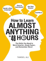How to Learn Almost Anything in 48 Hours