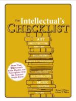 The Intellectual's Checklist