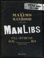 Maxims of Manhood Presents ManLibs