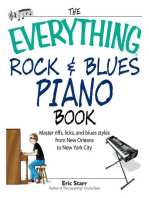 The Everything Rock & Blues Piano Book