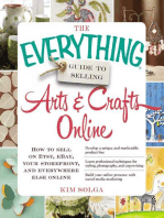 The Everything Guide to Selling Arts & Crafts Online