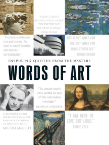 Words of Art: Inspiring Quotes from the Masters