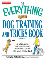 The Everything Dog Training and Tricks Book