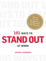 101 Ways to Stand Out at Work