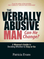 The Verbally Abusive Man - Can He Change?