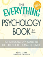 The Everything Psychology Book
