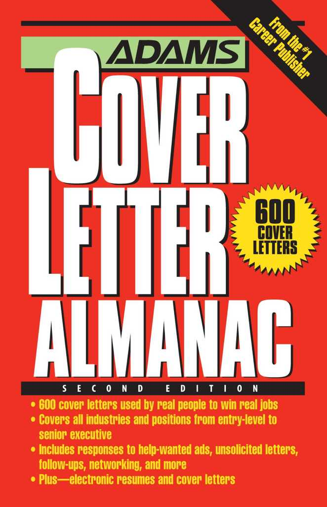 Adams Cover Letter Almanac By Richard J Wallace Book Read Line