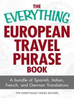 The Everything European Travel Phrase Book