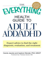 The Everything Health Guide to Adult ADD/ADHD