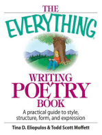 The Everything Writing Poetry Book