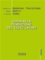 Guida alla traduzione del testo latino