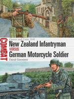 New Zealand Infantryman vs German Motorcycle Soldier