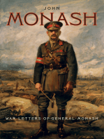 War Letters of General Monash