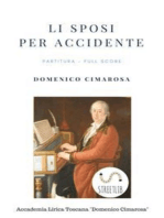 Li sposi per accidente (Partitura - Full Score)