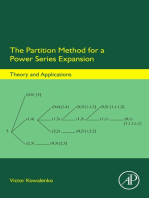 The Partition Method for a Power Series Expansion: Theory and Applications