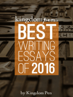 Kingdom Pen's Best Writing Essays of 2016