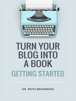Turn Your Blog into a Book