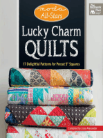 """Moda All-Stars - Lucky Charm Quilts: 17 Delightful Patterns for Precut 5"""" Squares"""