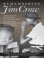 Remembering Jim Crow