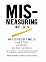 Mismeasuring Our Lives